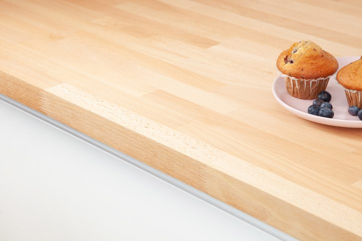 Prime Beech Kitchen Worktop Edge
