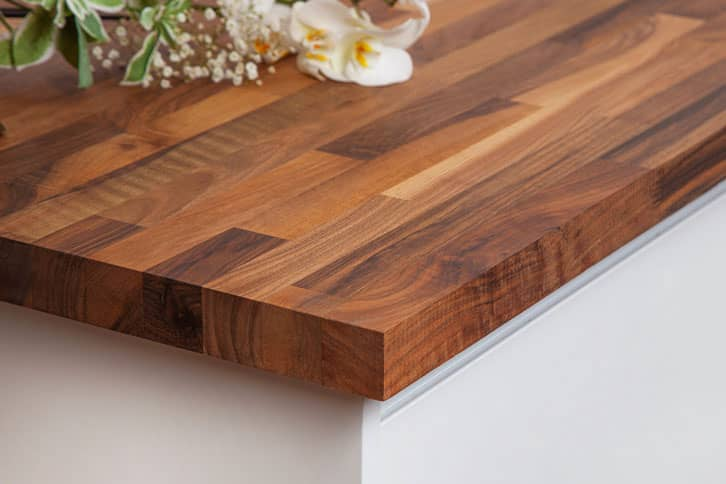Walnut Worktop Corner