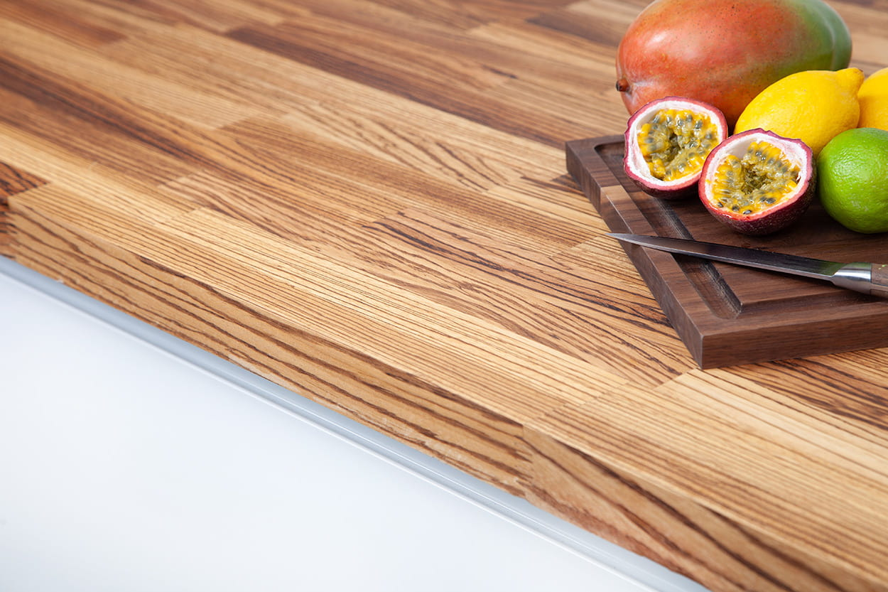 Go to our Zebrano Worktop gallery page