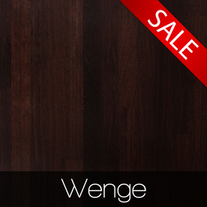 10% off Wenge Solid Wooden Worksurfaces Throughout December