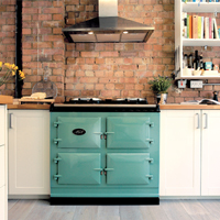 AGA ovens are a popular choice for traditional country kitchens.