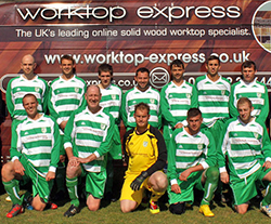 Alkerton Rangers sponsored by worktop Express®