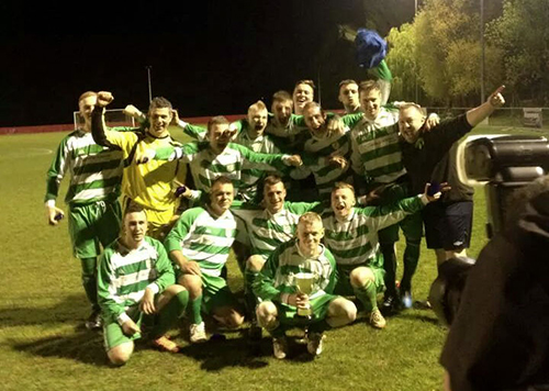 Alkerton Rangers race to victory in Gloucestershire Cup Final