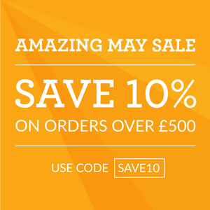 Save 10% off kitchen worktop surface on orders over £500.