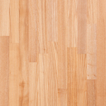 Ash worktops have a distinguished grain pattern and make an excellent paler alternative to oak