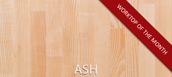 Ash Worktops: July's Worktop of the Month