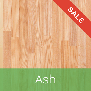 Our ash worktops are on sale with up to 10% off until December 22nd.