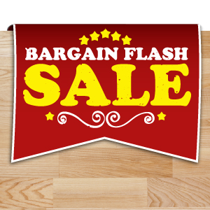 Save 10% on Wood Kitchen Worksurfaces in our 'Bargain Flash' Sale