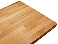 Beech Solid Wood Worktops: construction