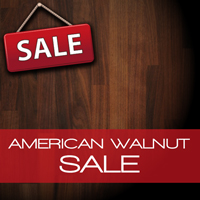 Sale on American Walnut Real Wood Countertops