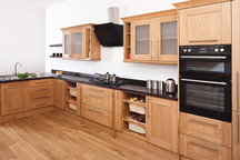 Blackfriars Kitchen in our Camden Worktop Showroom, London