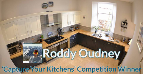 Capture Your Kitchens solid wood tops competition winner Roddy Oudney