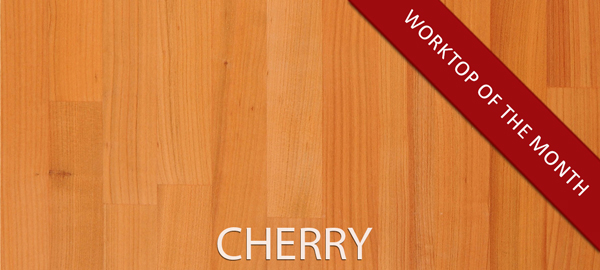 Our charming cherry wooden counters will fill your kitchen with warmth and cosiness.