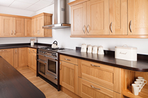 Wenge Shaker Kitchen - Chesterfield Worktop Showroom