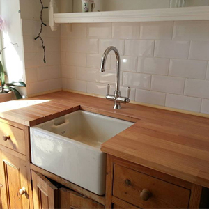 Choosing Hardwood Work Surfaces for Utility Rooms