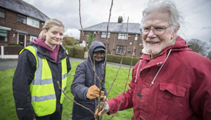 The City of Trees project promotes tree planting and woodland management in Greater Manchester.