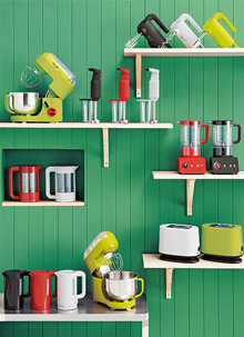 Colourful Kitchen Additions