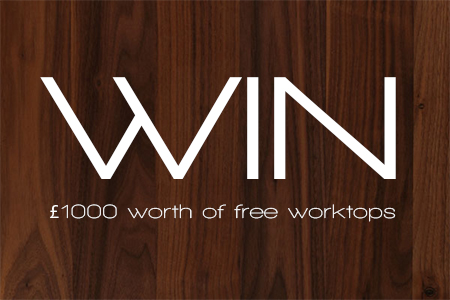 Win £1000 worth of free worktops