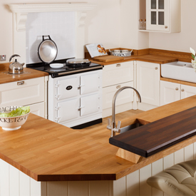 Truly embrace the country kitchen look with an AGA oven.