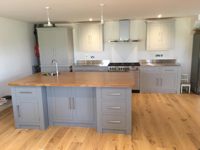 Light Grey Kitchen Cabinets Uk