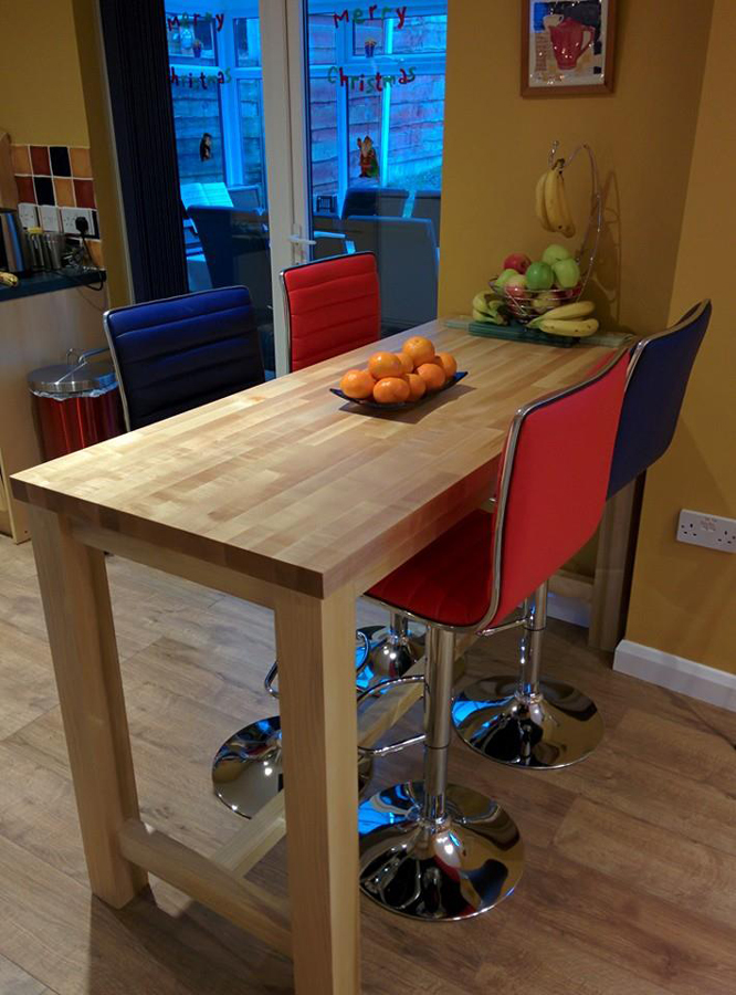 Maple Worktop Gallery