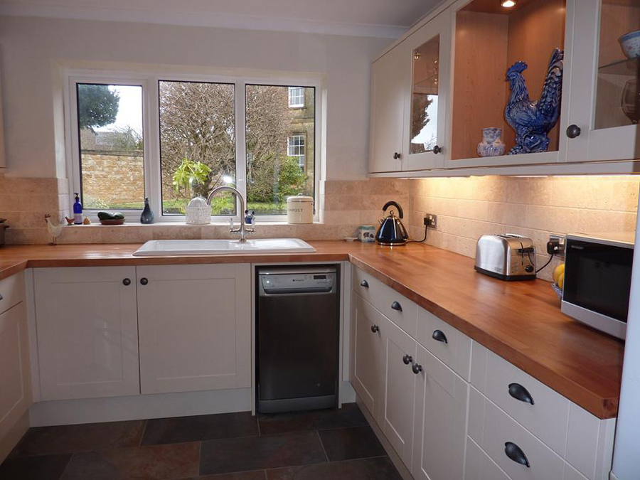 White Kitchen Worktops customer kitchen wooden worktop gallery page 3 - worktop express