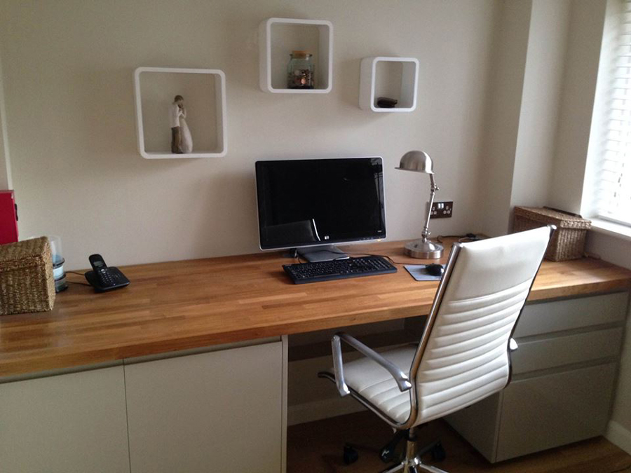 Diy Floating Desk Corner