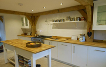 Bespoke oak worktops