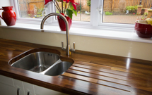 Black American walnut worktops