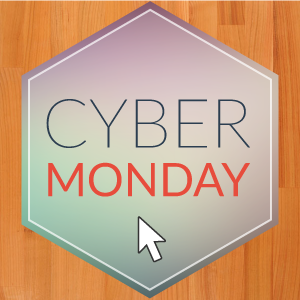Enjoy a pre-Christmas Bargain with Our 'Cyber Monday' Sale