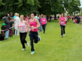 Danielle and the Race for Life