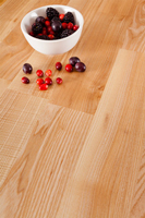 Deluxe ash solid wood worktops are a popular choice in Coventry.