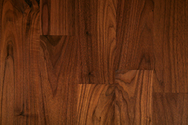 All about Deluxe Black American Walnut: Type of wood and grain structure