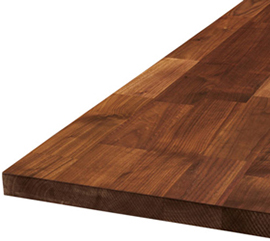 All About Deluxe Black American Walnut A Worktop Express
