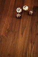 Deluxe black american walnut solid wood worktops are a popular choice in Milton Keynes.