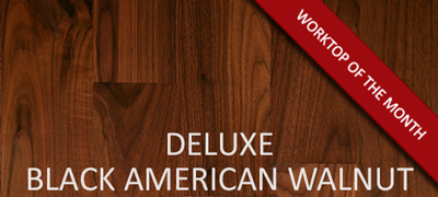 Deluxe Black American Walnut Worktop
