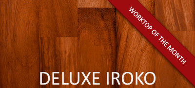 May's Worktop of the Month: Deluxe Iroko