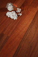 Deluxe sapele solid wood worktops are a popular choice in Wakefield.