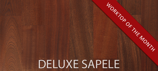 Deluxe Sapele Worktops - Our Worktop of the month