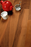 Deluxe walnut solid wood worktops are a popular choice in Northampton.