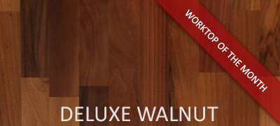 Deluxe Walnut: March's Solid Wood Worktop of the Month