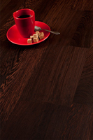 Deluxe wenge solid wood worktops are a popular choice in Twickenham.