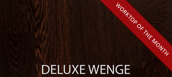 New Deluxe Wenge Replacement Countertops:  November's Worktop of the Month