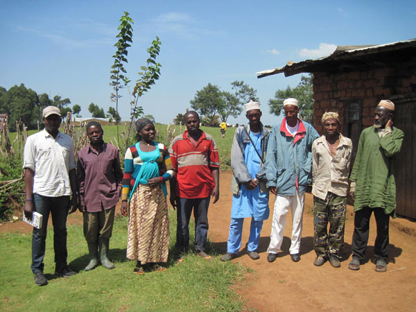 Members of the Dom community in Cameroon who will benefit from this project