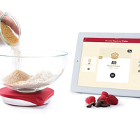 Drop Kitchen Connected Scales are the perfect companion for your kitchen worktop surface.