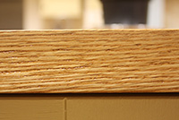 Edge glued stave