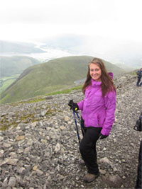 Emily and Ben Nevis Hiking Challenge
