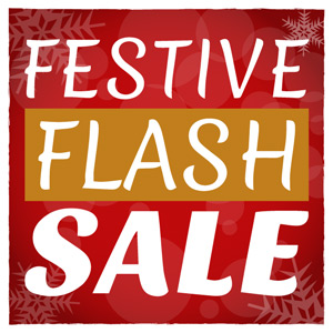 Festive Flash Sale Now On