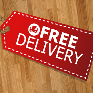 Take advantage of free delivery for wooden worktops before it's too late!
