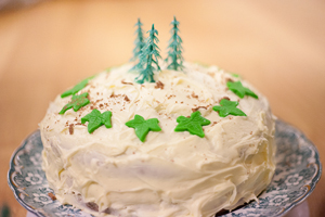 Our cakes are inspired by forests, to also raise awareness of FSC Friday.
